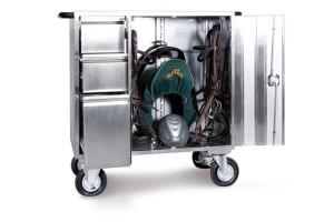 High End Sattelschrank - In Aluminium, Edelstahl und Stahl erhältlich. Luxus pur.